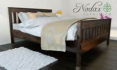 new wooden solid pine 5ft king size bed frame with slats