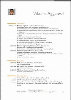 How Resume Should Look Resume Format Resume Format