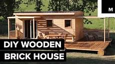 diy house diy wooden brick house