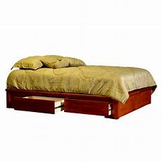 captain s platform bed wood platform bed frames