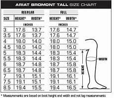 Ariat Heritage Boot Size Chart Ariat Bromont H2o Non Insulated Womens Boots Black