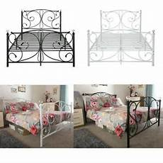 panana luxury 4ft6 metal bed frame with