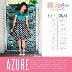 Lularoe Azure Skirt Sizing Chart This Skirt Features A