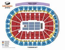 Little Caesars Arena Seating Chart Little Caesars Arena Seating Chart Red Wings In Play