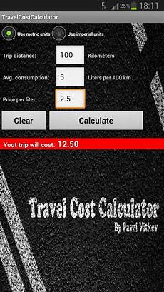 Travel Costs Calculator Travel Cost Calculator Android Apps On Google Play