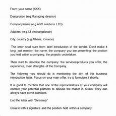 Introduction Email Sample 5 Introduction Email To Client Templates Word Excel Pdf