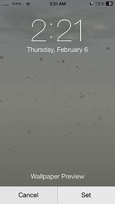 Live Weather Wallpaper Iphone by Weatherboard Brings Weather Themed Animated Wallpapers To