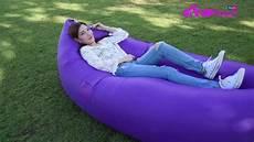 review sofa banana air bed