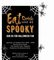 Sample Halloween Invitations Free Printable Halloween Party Invitations 2018 Template