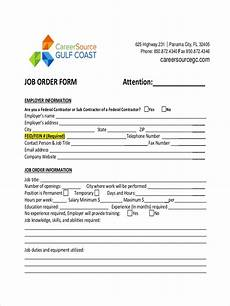 Job Order Form Free 8 Job Order Examples Amp Samples In Pdf Doc Examples