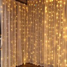 Dangling Fairy Lights Torchstar 9 8ft X 9 8ft Led Curtain Lights Starry