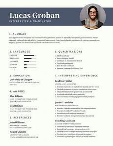 Modern Picture Resume Customize 734 Modern Resume Templates Online Canva
