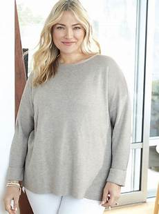 plus size sleeve tops sweaters 3 4 sleeve sweater plus size infashion