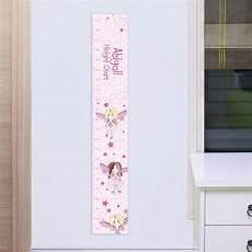Pink Height Chart Personalised Pink Fairy Height Chart Kwerks