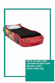delta children cars lightning mcqueen bed with lights
