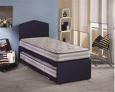 airsprung ortho sleep 2ft6 small single guest bed by