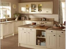 photo of colour cosy cottagey country kitchen neutral shaker vintage warm cream taupe white