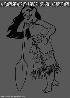 Vaiana Malvorlagen Vaiana 3 Ausmalbilder Disney