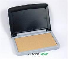 Black Light Stamp Pad Felt Rubber Stamp Pad For Uv Invisible Blacklight Ink