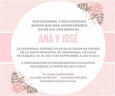 Invitaciones De Boda Ejemplos Textos Formales Y Divertidos Para Invitaciones De Boda