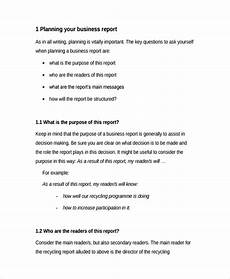 Professional Report Template Free 22 Sample Professional Report Templates In Pdf Ms Word