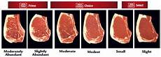 Steak Grade Chart Grading Meat With The Usda Meat Grading System Clover