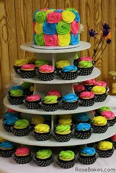Edible Black Light Frosting Rainbow Cake Necklace Neon Cake Confetti Frosting