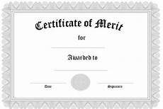 Merit Certificate Sample 10 Certificate Of Merit Templates Free Printable Word