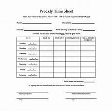 Timesheet Download Free 13 Weekly Timesheet Templates In Google Docs