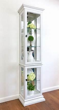 curio cabinet makeover curio cabinet painted curio cabinets