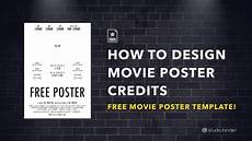 Free Movie Poster Template Download Your Free Movie Poster Template For Photoshop