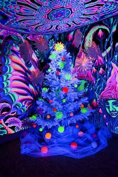 Christmas Black Light Drama Schwarzlicht Weihnachtsbaum Blacklight Schwarzlicht
