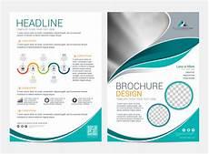 Background Leaflet Design Premium Vector Brochure Layout Template Leaflet Flyer