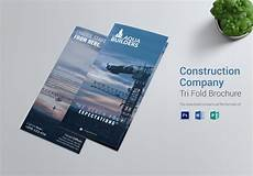 Brochure Templates For It Company Construction Company Tri Fold Brochure Template