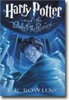 Harry Potter And The Order Of The Phoenix Book 5 Book