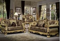 Luxury Sofa Sets For Living Room 3d Image by Luxury Antique Style Formal Sofa Seat 2 Pc Living