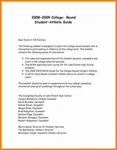 Athlete Letter Of Recommendation 11 Letter Of Recommendation From Coach For Student