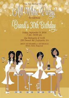 All White Party Invitations Templates All White Party Invitation White Birthday By