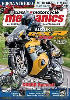 Motorcycle Mechanics Classic Motorcycle Mechanics September 2015 By Mortons