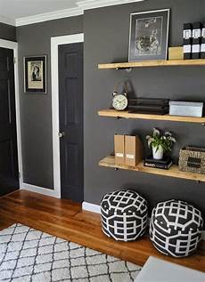 Light Grey Floating Shelves 35 Floating Shelves Ideas For Different Rooms Digsdigs