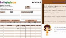 Construction Bill Template Contractor Invoice Templates Free 20 Results Found