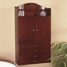 southern enterprises jewelry armoire wall