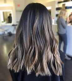 Light Brown Hair With Beige Highlights Dark Brown Wavy Hair With Subtle Light Beige