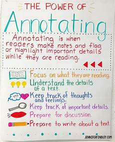 C Chart Text Annotation Example Annotating Tips For Close Reading Teaching With