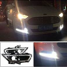 2013 Ford Fusion Fog Lights 2x Led Daytime Running Lights Drl Fog Lamp For Ford Fusion