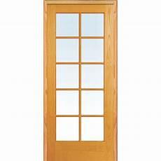 prehung interior doors home depot mmi door 32 in x 80 in right handed unfinished pine wood