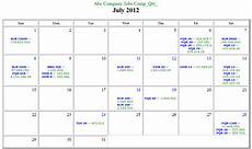 Calendar Html Code Html Code For Calendar Calendar Template 2020