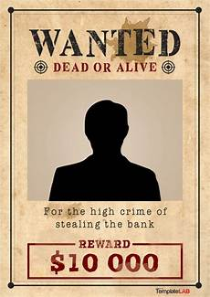 Wanted Poster Template For Pages 25 Free Wanted Poster Templates Photoshop Pdf Google