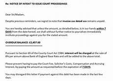Credit Control Letter Credit Control Process Letters Credebt Ltd