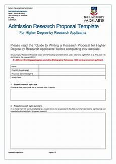 Template Proposal Choose From 40 Research Proposal Templates Amp Examples 100